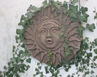F 02 art antique sandstone look Sun large