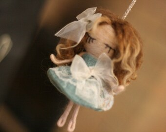 Fairy Nerida - Needle Felted home decoration and gift with little magic