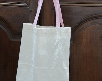 Raw cotton canvas bag