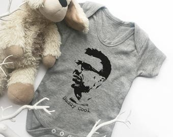 First Father's Day Onesie, Father's Day Onesie, Father's Day Gift from baby, New Dad Gift - Personalised photo baby bodysuit