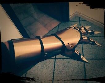 Steampunk Fantasy Vampire armor gauntlet glove hand cosplay