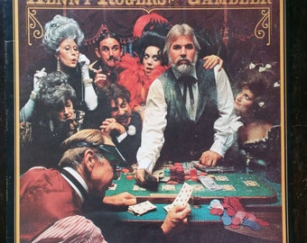 "Kenny Rogers ""THE GAMBLER"" LP"