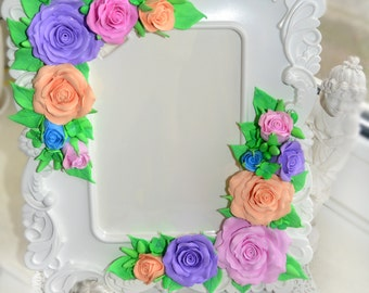 Photo Frames made of polymer clay
