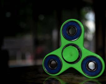 LIMITED EDITION Neon Green Small Fidget Spinner
