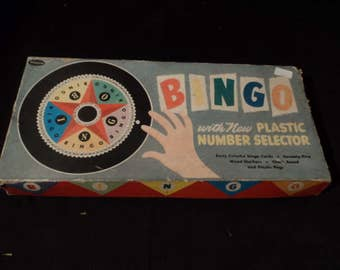 Vintage Bingo Game - Whitman - Complete