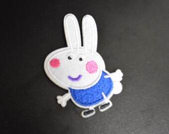 Peppa Pig Patch, Peppa Pig Iron on Patches
