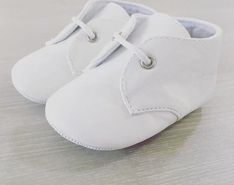 Baby boy PU Bootie Christening Shoes