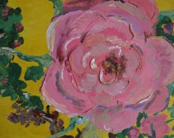 Rose acrylic image