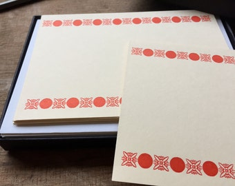 Bloomsbury Letterpress Printed Boxed Stationery
