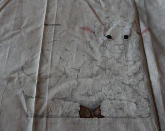 30 Lamb Stamped Pattern to stuff