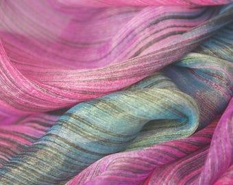 Shimmer Fine Line Sheer Fabric