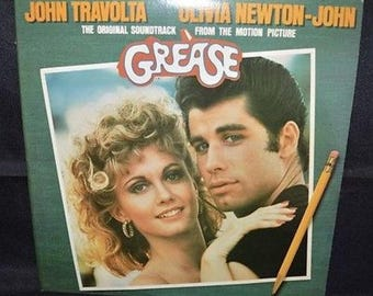 "Grease Soundtrack 12"" (2 LP's) Record NM"
