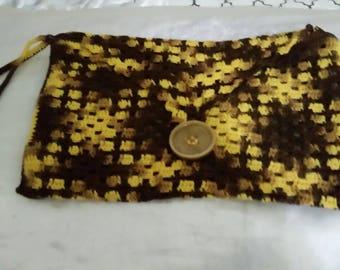 Jamaican made crochet purse