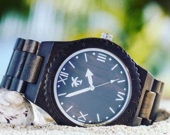 ST VINCENT SERIES - Wood Watch, Wooden Watch, Present, Wood Watches, Wooden Watches, Island Watches, Beach lifestyle, Watch
