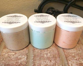 Whipped Sugar Scrub, Body Scrub, Shea Butter Scrub, Spa Gifts