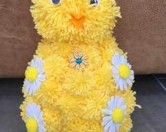 Pom Pom Easter Chick
