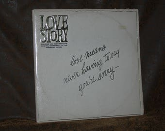 Love Story - Dialogue And Music From The Original Soundtrack~FRANCIS LAI~NM 2xLP