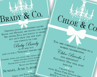 Tiffany & Co Invitation