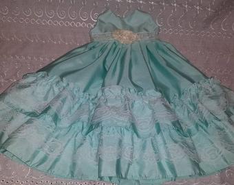 "Spring prom dress for 18"" American Girl, Journey Girl or Madame Alexander"
