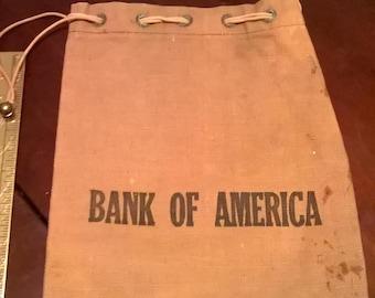 Bank of America Canvas Bag