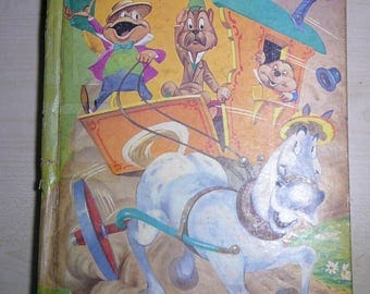 1949 Walt Disney The ADVENTURES of Mr. TOAD A Big Golden Book Hardcover Grahame, Kenneth The Wind In The Willows Published Simon Schuster