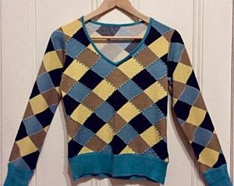 Vintage_80s knited top