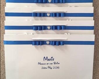 Medium Wide, Giftbag, Personalised, Wedding gifts.