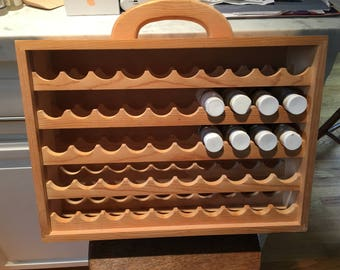 Craft Paint Bottle rack/holder
