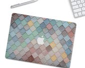Macbook case MacBook Hard Case MacBook Air Protection MacBook Pro 2016 touch bar case MacBook Pro Retina hard case  Pastel tiles