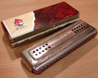 Authentic 1936 Berlin Olympic Games German Olympia Harmonica