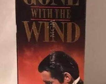 Gone with the Wind vhs tape