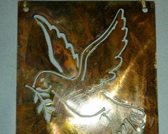 Peace Dove Metal Art