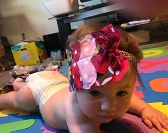Hearts galore headband
