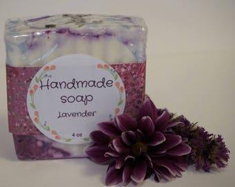 Handmade Lavander Soaps