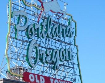 Oregon, Portland, Portland Old Town, PDX,