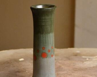 Grey-Green Bud Vase