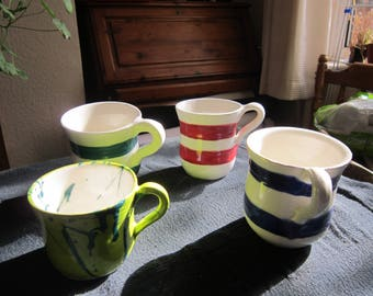 Manly Mugs and Breakfast tea cups