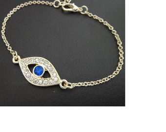 Hamsa Evil Eye Punk Bracelets collar jewellery cute pendant charm lucky gift