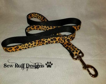 4 ft. Leopard Dog Leash