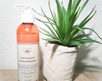 Apricot body lotion - Rosemary, moisturizing body milk