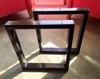 Box Frame Steel Leg Set