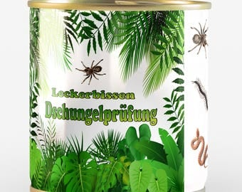 "Treat ""Jungle testing"" with spiders, centipedes and snakes + delis van Hoogen"