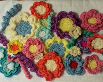 Crochet Flower pattern 1