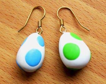 Egg earrings Yoshi
