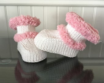 Baby girl 0-3 months booties