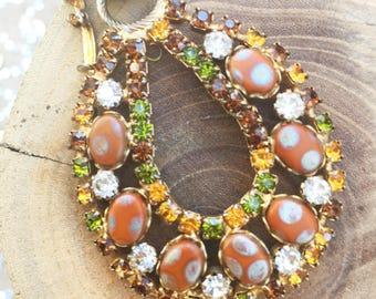 Vintage Bauble Necklace