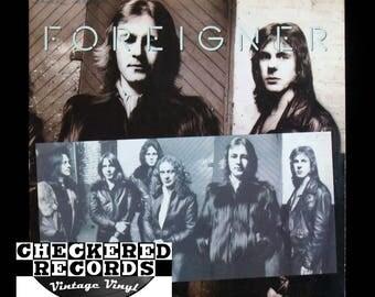 Vintage Foreigner Double Vision VG+ Vintage Vinyl LP Record Album