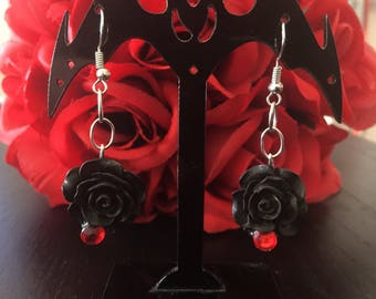 Gothic Rose earrings