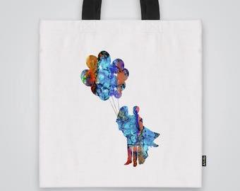 Fly Away Tote Bag Shoulder Bag Market Bag Art Print
