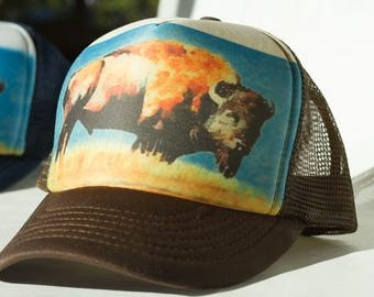 Bison Trucker Hat